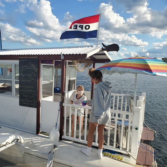 Grace O'Malley's Floating Snack Bar