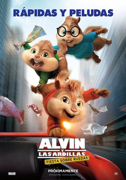 Alvin Y Las Ardillas 4 Fiesta Sobre Ruedas