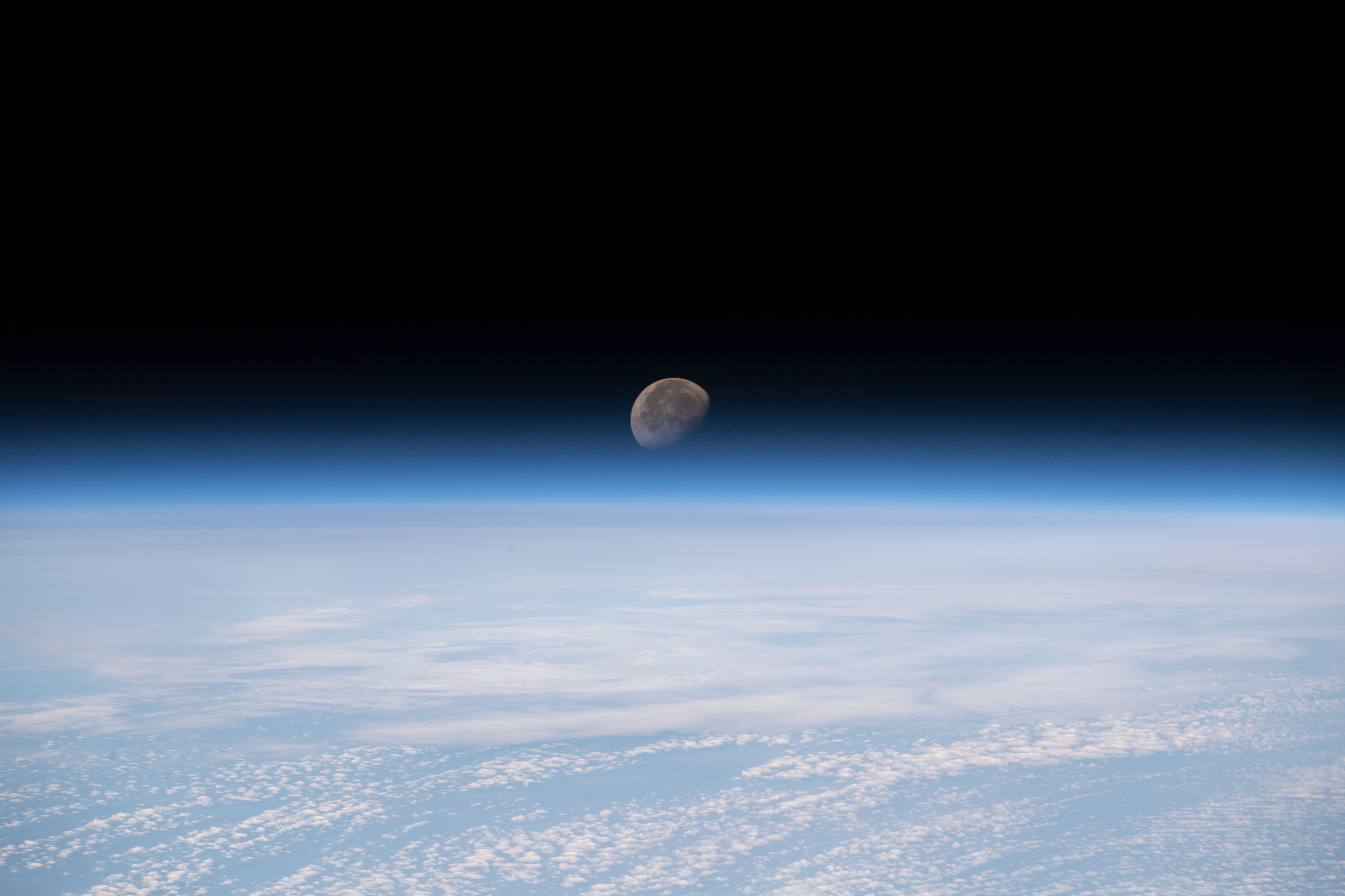A photo by ISS