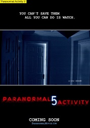 Paranormal Activity 5: Hayalet Boyutu