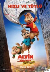 Alvin ve Sincaplar Yol Macerası
