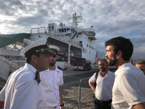 Nave Diciotti, Martina: Sbarcare subito 177 esseri umani