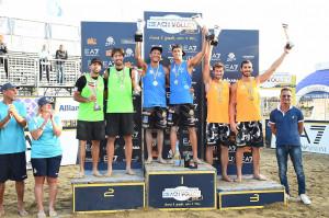 Beach Volley: Andreatta-Abbiati e Toti-Allegretti vincono la Coppa Italia