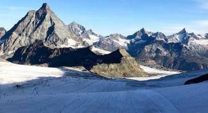 Sci femminile, il sole assiste il team impegnato a Zermatt