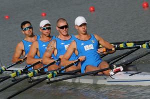 Cannottaggio: 'quattro di coppia' medaglia d'oro