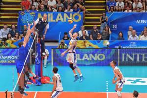 L'Italia del volley perde contro la Russia