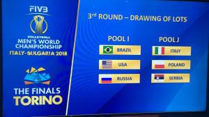 Volley: Italia nel girone con Polonia e Serbia