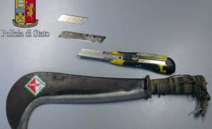 Ferrara: aggressione con un machete, due arresti