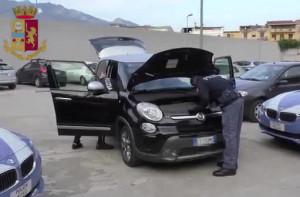Traffico di auto rubate sgominato dalla Polizia Stradale