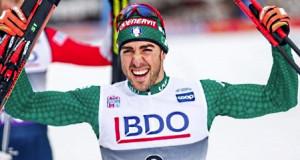 Federico Pellegrino vince la sprint di Coppa del mondo