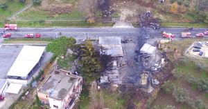 Rieti, tragica esplosione, muore un Vigile del Fuoco