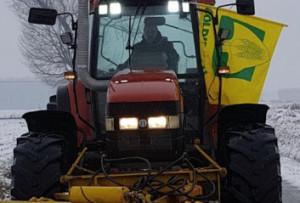 Maltempo, mobilitati trattori contro neve e gelo