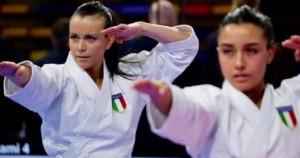 Karate: kata d'oro in Premier League con Michela Pezzetti e Carola Casale