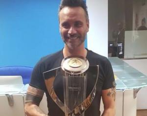Grande successo a Reggio Emilia per il Trophy Tour: tra i visitatori anche il cantante Nek
