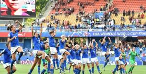 K.o. anche la Cina, continua il sogno Mondiale dell'Italia femminile