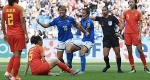 L'Italia ricarica le pile in vista dei Quarti con l'Olanda. Giacinti: 'Viviamo un momento magico'