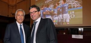 Presentato il 'ReportCalcio'. Gravina: 'Il calcio è un'eccellenza del Paese'
