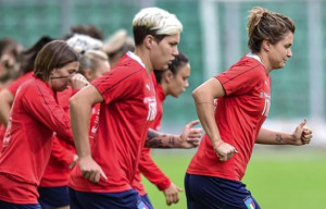 L'Italia si raduna in vista dell'Algarve Cup, sabato la partenza per il Portogallo
