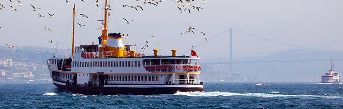 بالا شهر و پایین شهر استانبول