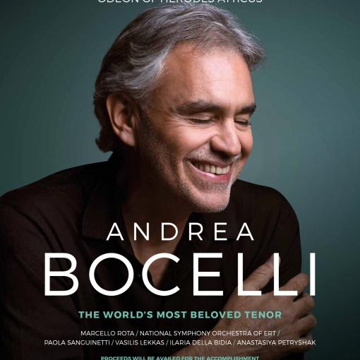 Andrea Boccelli Acropolis 11 Sep. 2019