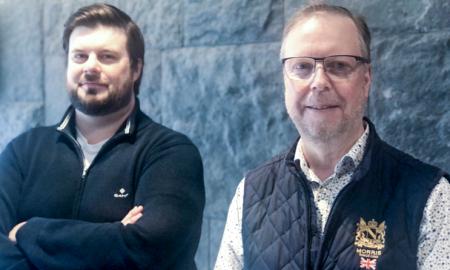 Peter Nilsson och Stefan Nordmark på Smart Recycling.