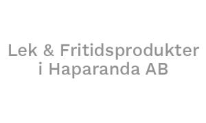 Lek & Fritidsprodukter i Haparanda AB