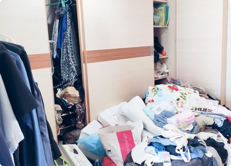 案例-衣櫃整理/換季