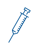 Icon of a syringe