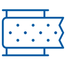 Icon of a bandage roll