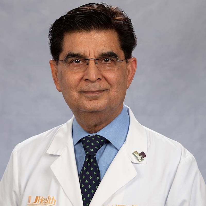 Headshot of Ashok Verma, MD, DM, MBA