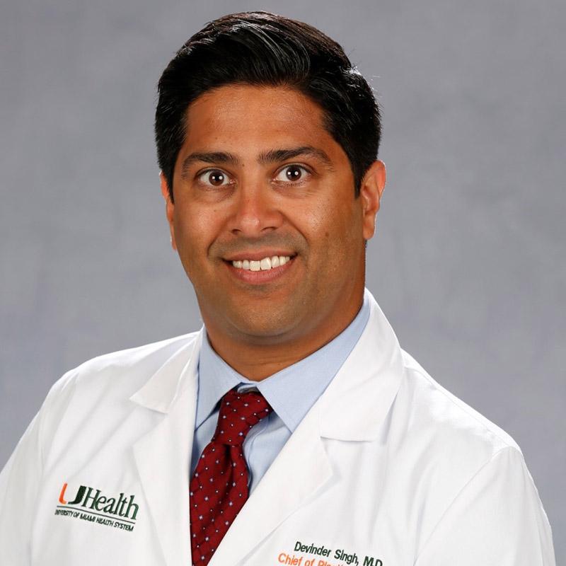Headshot of Devinder Singh, MD