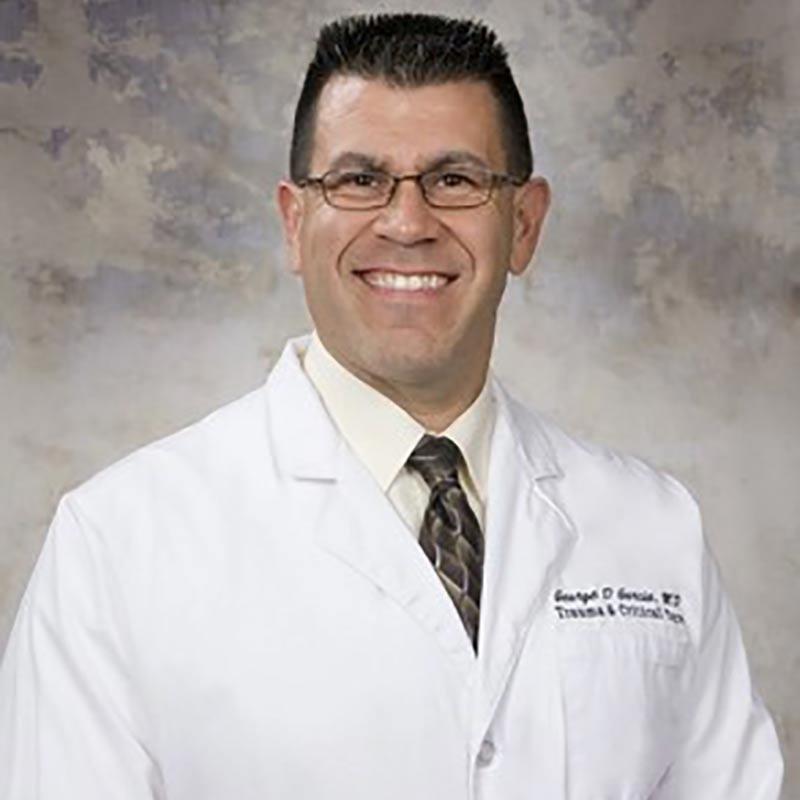 Headshot of George D. Garcia, MD