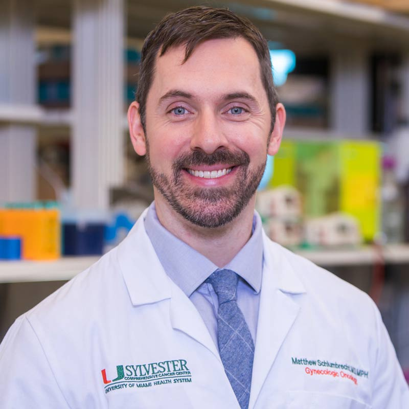 Headshot of Matthew Schlumbrecht, MD, MPH