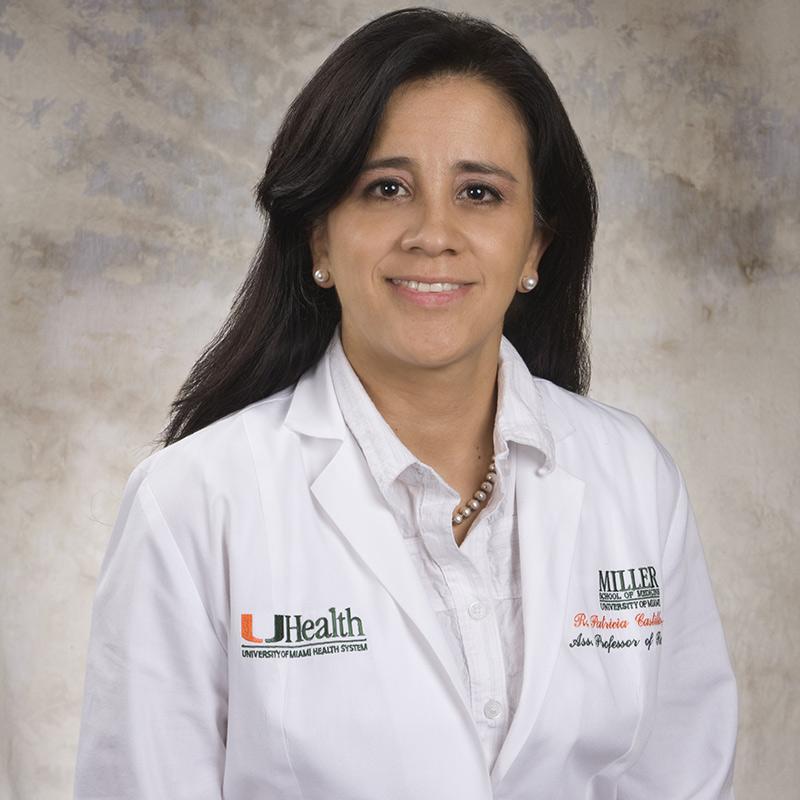 Headshot of R. Patricia Castillo, MD
