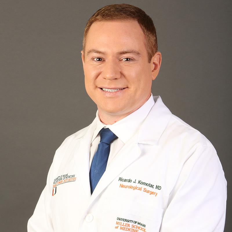 Headshot of Ricardo J. Komotar, MD