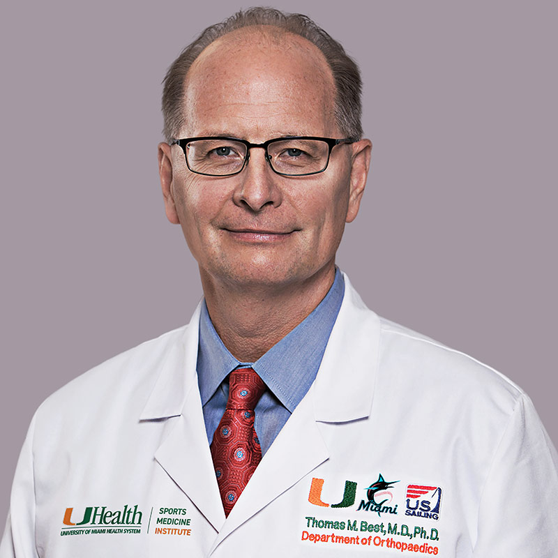 Headshot of Thomas Best, MD, PhD, FACSM