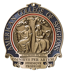 American College of Surgeons badge