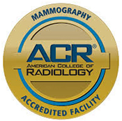 Mammography Accredited Facility badge