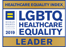 Logo for LGBTQ Healthcare Quality Leader Award