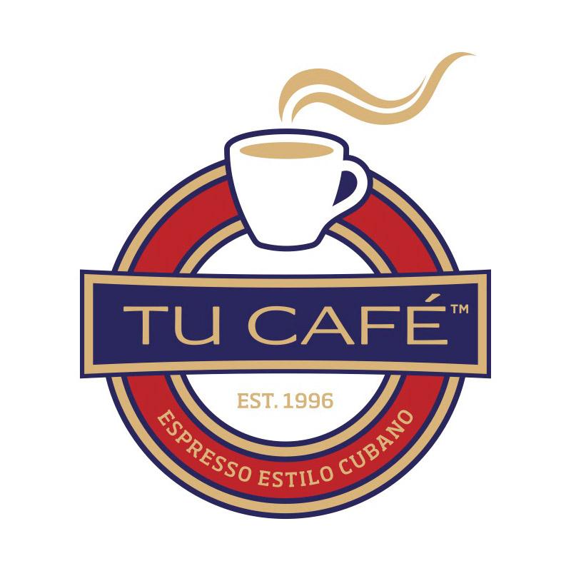 Tu cafe logo, it reads Tu Cafe Est 1996 Expresso Estilo Cubano