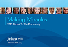 Making Miracles. 2013 report to the community