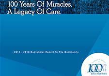 100 years of miracles. A legacy of care.