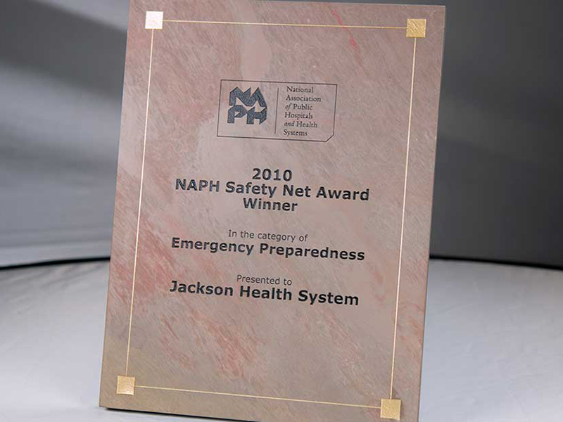NAPH Safety Net Award Winner