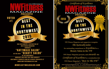 Voted Best Beauty Salon in NW