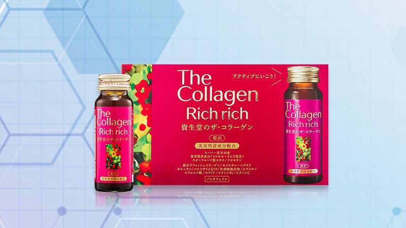 Nước uống đẹp da The Collagen Rich Rich Shiseido