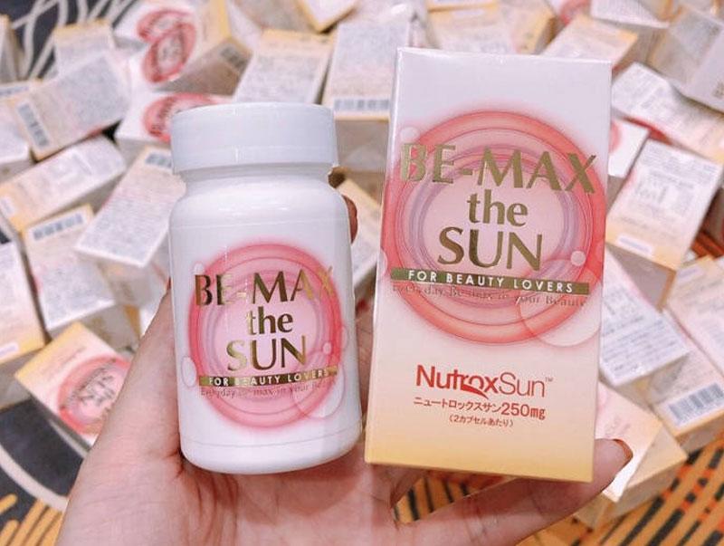 Viên Uống Chống Nắng Be-Max The Sun Nhật Bản 30 viên