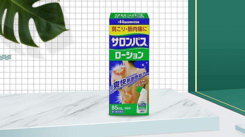 Lăn Salonpas Hisamitsu 85ml
