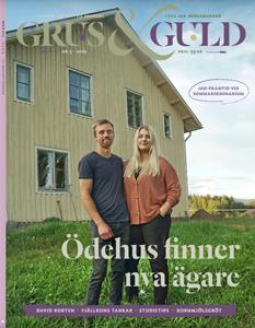 Grus & Guld nr 3 2019 omslag