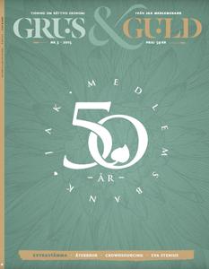 Grus & Guld nr 3 2015 omslag