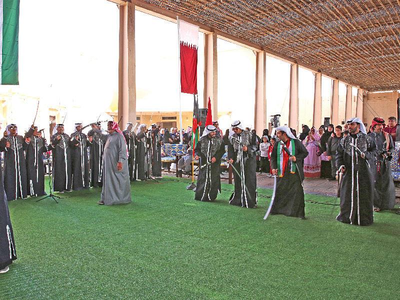 جريدة الجريدة الكويتية   قطر تواكب الاحتفالات الوطنية بـ«الكويت... بلادنا الكويت»